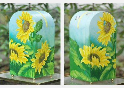 Urne Sonnenblume