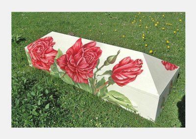 Rosenschrein Elfenbein